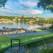 Lappeenranta Linnoitus. Näkymä satamaan. Lappeenranta tekemistä ja nähtävää